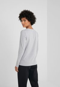Barbour - BRECON TEE - Long sleeved top - light grey marl - 2