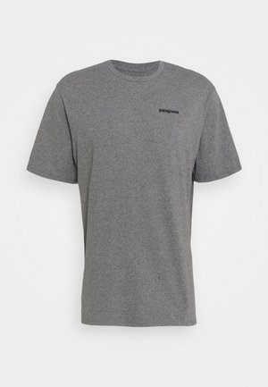 LOGO RESPONSIBILI TEE - T-shirt med print - gravel heather