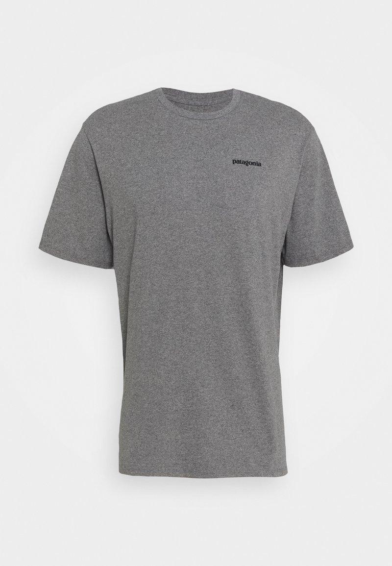 Patagonia - LOGO RESPONSIBILI TEE - T-shirt imprimé - gravel heather