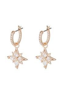 Swarovski - SYMBOL MINI HOOP STAR  - Earrings - gold-coloured - 5