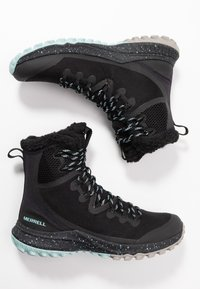 Merrell - BRAVADA POLAR WATERPROOF - Zimní obuv - black - 1