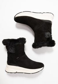 Geox - BACKSIE ABX - Wedge Ankle Boots - black - 3