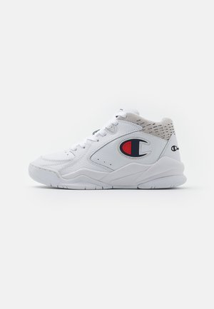 MID CUT SHOE ZONE  - Basketball shoes - white
