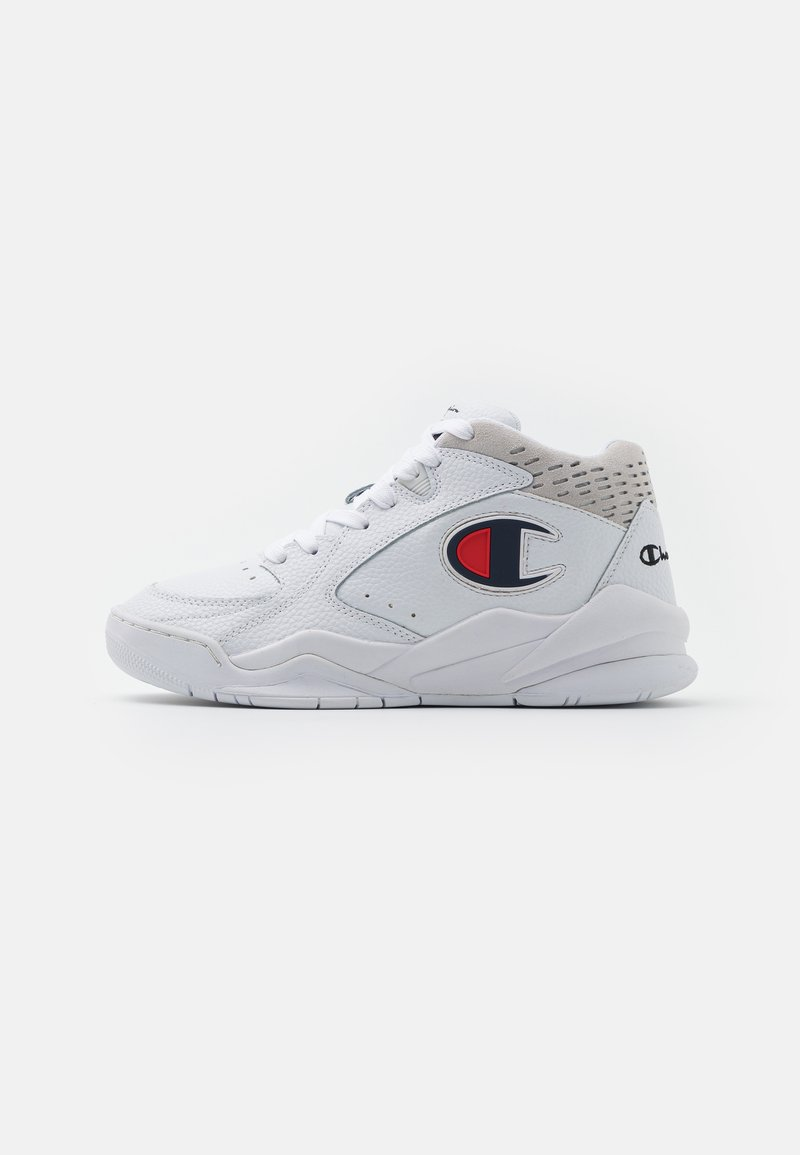 Champion - MID CUT SHOE ZONE  - Basketball shoes - white