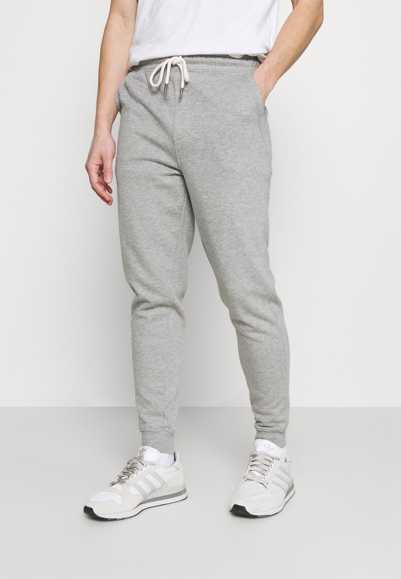 Cotton On - TRIPPY TRACKIE - Träningsbyxor - peached grey marle