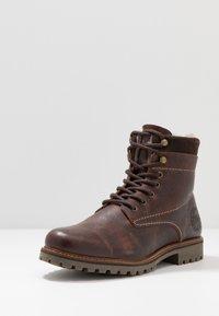 Salamander - HARROLD - Lace-up ankle boots - cognac - 2