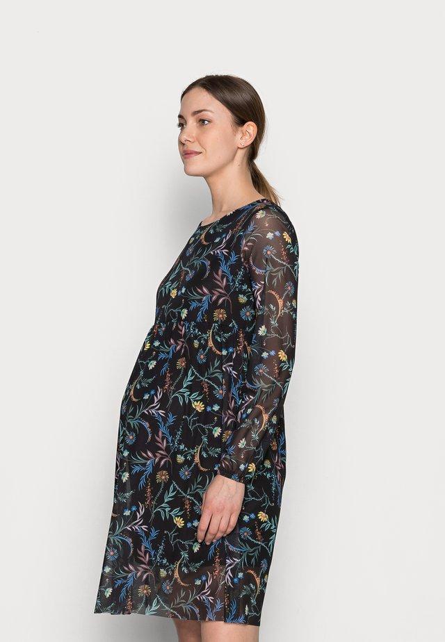 MLFATO DRESS - Žerzejové šaty - black