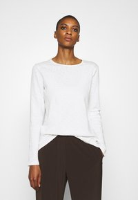 Marc O'Polo DENIM - Long sleeved top - scandinavian white - 0