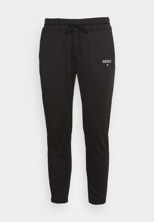 FITTED SMART CROWN PANTS - Treningo apatinė dalis - blackgold