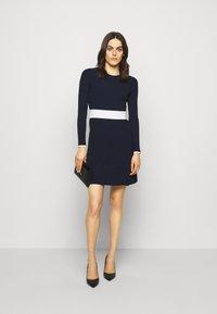 HUGO - SEAGERY - Jumper dress - open blue - 1
