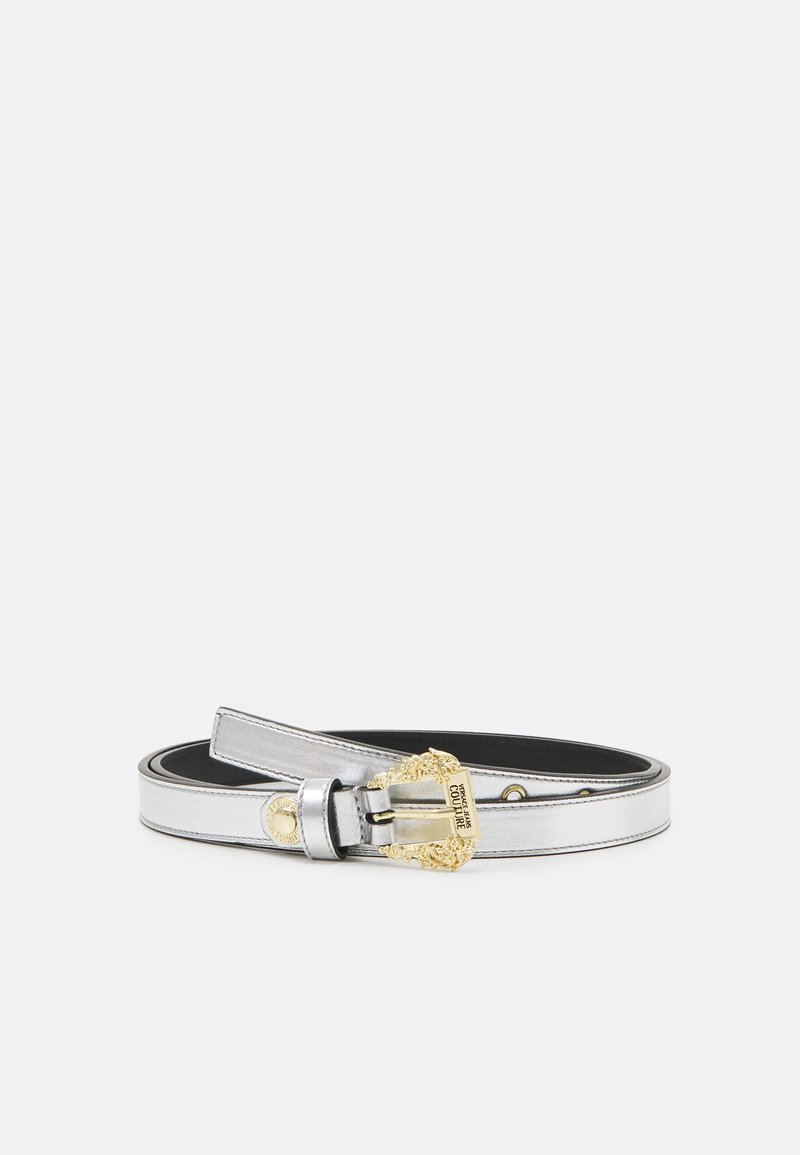 Versace Jeans Couture - LAMINATED BELTS - Riem - argento