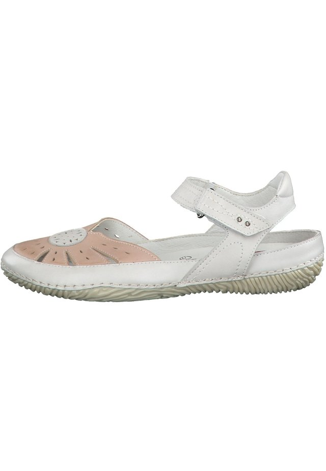 JANA - Chodecké sandály - grey/rose