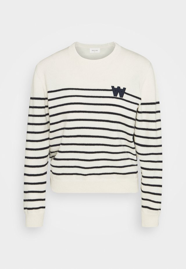 ANNELI LAMBSWOOL JUMPER - Strickpullover - off white