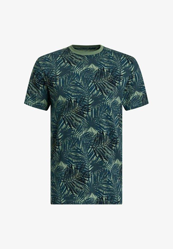 WE Fashion T-shirt z nadrukiem - all-over print/wielokolorowy Odzież Męska WGGI