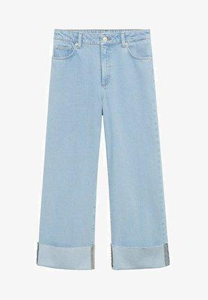 Straight leg jeans - jasnoniebieski