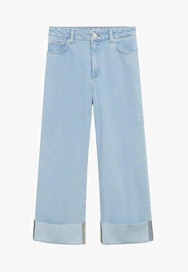 Jeans a sigaretta - jasnoniebieski