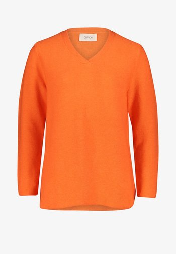 MIT STRUKTUR - Pullover - apricot