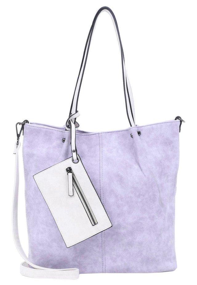 BAG IN BAG SURPRISE - Shopping bag - lightlilac/ecru 623