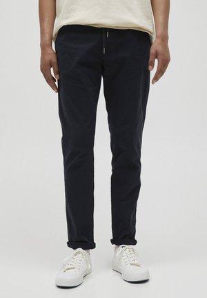SLIM FIT - Chino kalhoty - dark blue