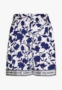 PEONIE - Shorts - joanna border blue