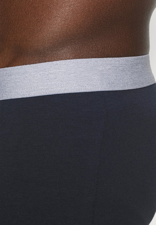 Pier One 5 PACK - Panty - dark blue/ mottled grey/granatowy Odzież Męska PHSC