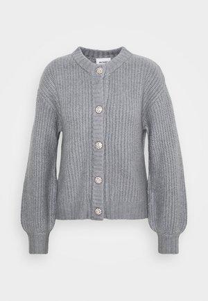 MAJLI CARDIGAN - Cardigan - grey melange