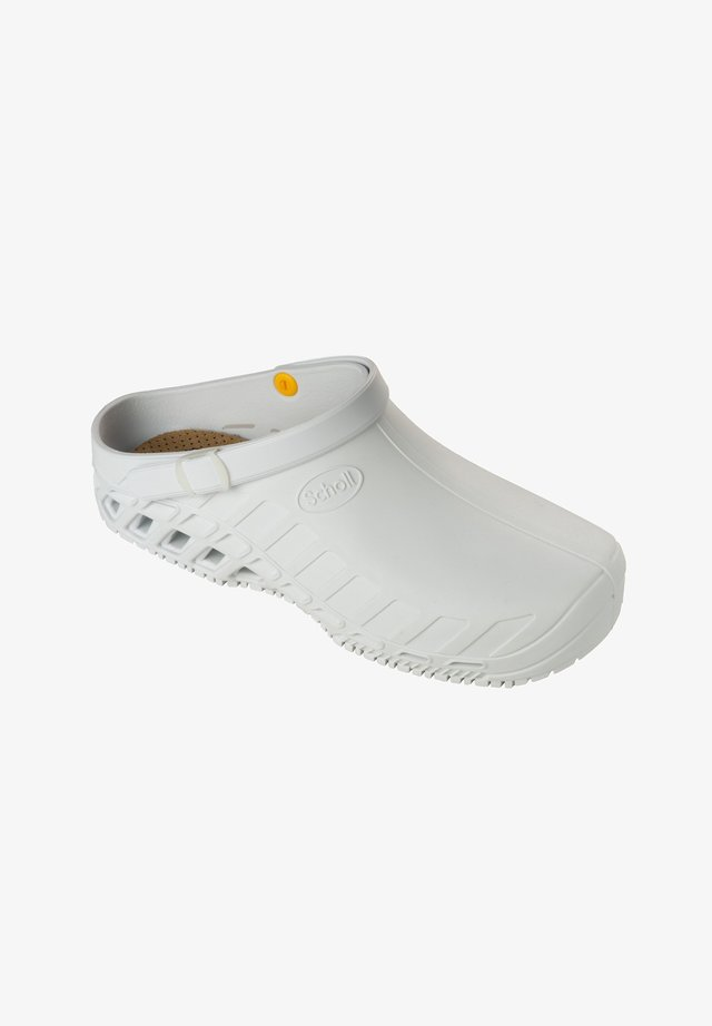 PROFESSIONAL LINE CLOG EVO - Pantoffels - white