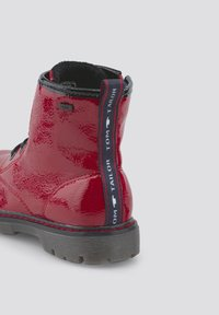 TOM TAILOR - Lace-up ankle boots - red - 4
