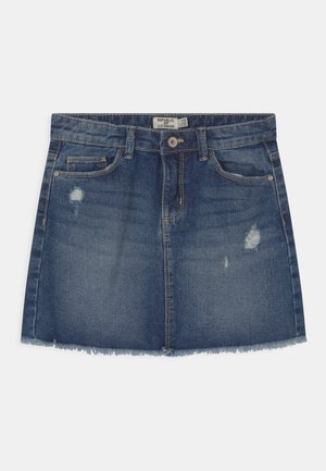 5 POCKET - Mini skirt - ensign blue