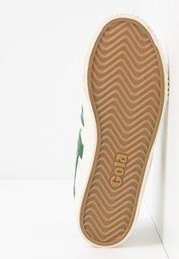 Gola - TENNIS MARK COX - Sneakersy niskie - offwhite/dark green - 6
