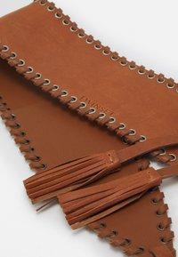 TWINSET - BELT - Waist belt - cognac - 3