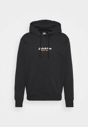 CENTRAL HOODIE - Sweatshirt - black