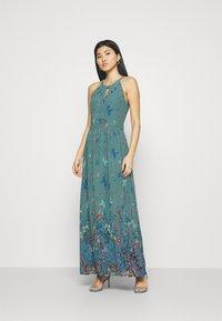 Esprit Collection - PRINT FLOWER - Maksimekko - dark turquoise - 1