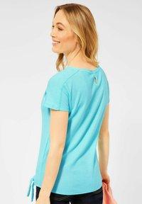 Cecil - Basic T-shirt - türkis - 1