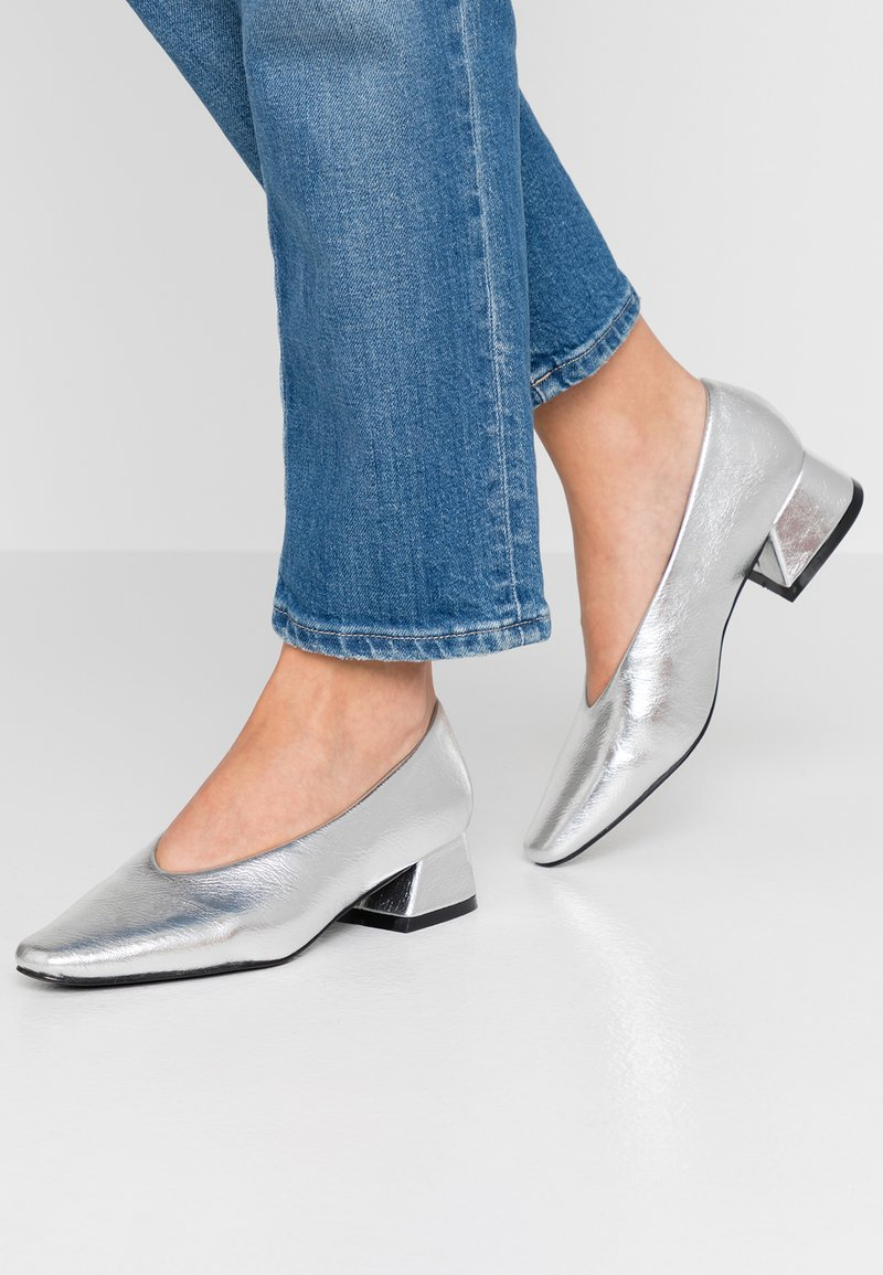 co wren - Classic heels - silver