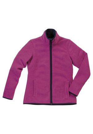 Fleece jacket - cupcake pink