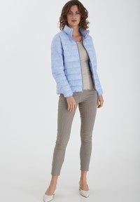 Fransa - Winter jacket - brunnera blue - 1
