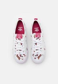 adidas Originals - NIZZA UNISEX - Zapatillas - footwear white/wild pink - 3