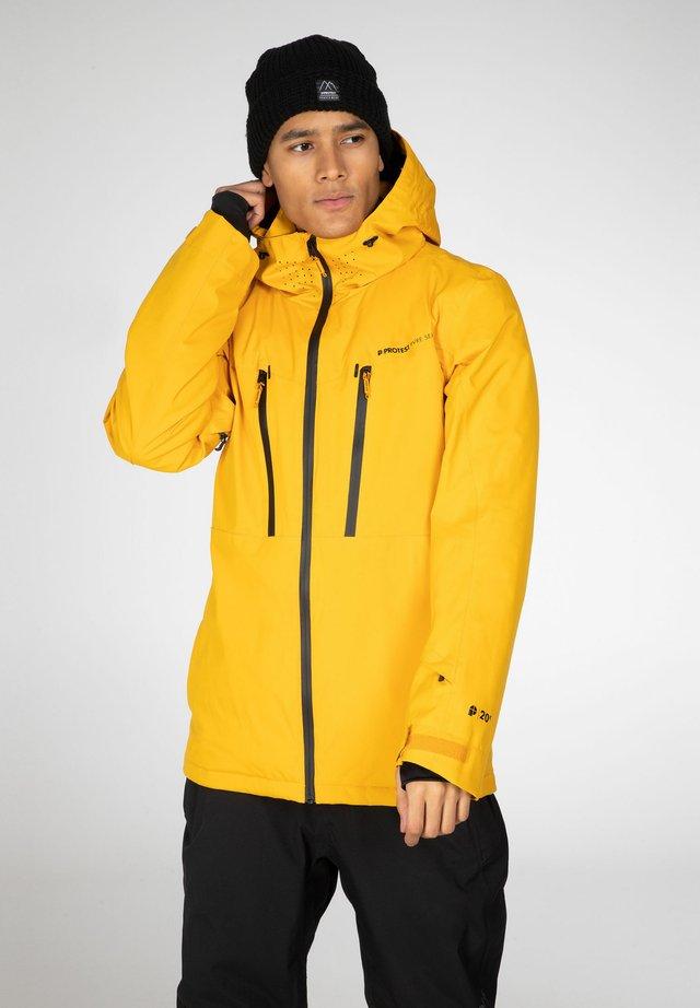 Veste de snowboard - dark yellow