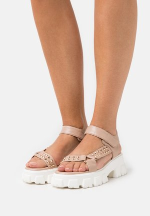 ODESSA - Sandals - nude