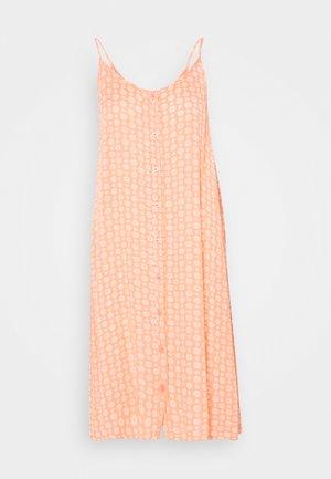 KALERA AMBER DRESS - Day dress - coral/chalk
