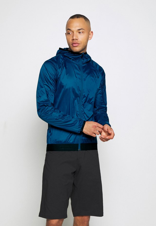 WINDBREAKER JACKET SHELTER - Veste de survêtement - ocean blue