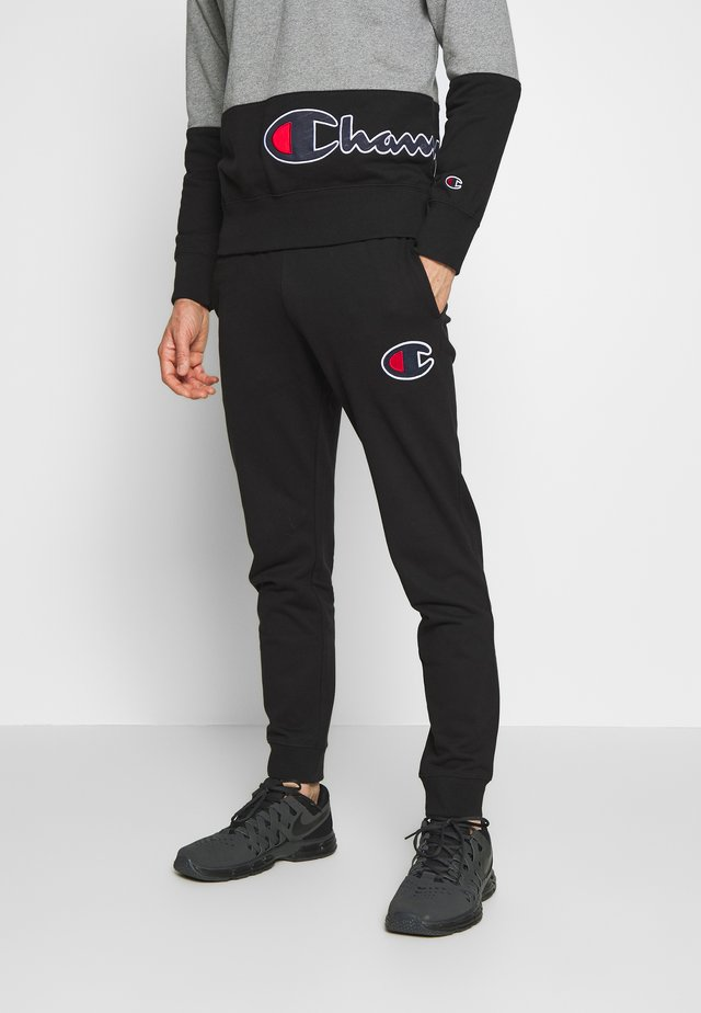 ROCHESTER RIB CUFF PANTS - Tracksuit bottoms - black