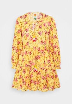 BANANA SUNSHINE MINI DRESS - Day dress - multi