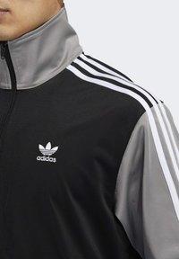 adidas Originals - BLOCKED FIREBIRD TRACK TOP - Training jacket - black - 1