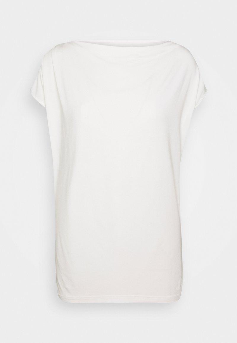 Curare Yogawear - WASSERFALL - Camiseta básica - soft white