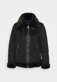 ONLY Petite - ONLJANICE BONDED AVIATOR - Winter jacket - black - 0