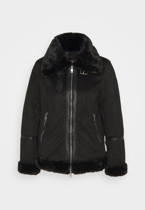 ONLJANICE BONDED AVIATOR - Winter jacket - black