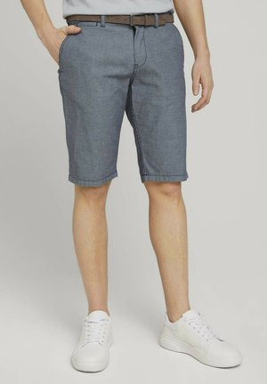 Shorts - grey honeycomb structure