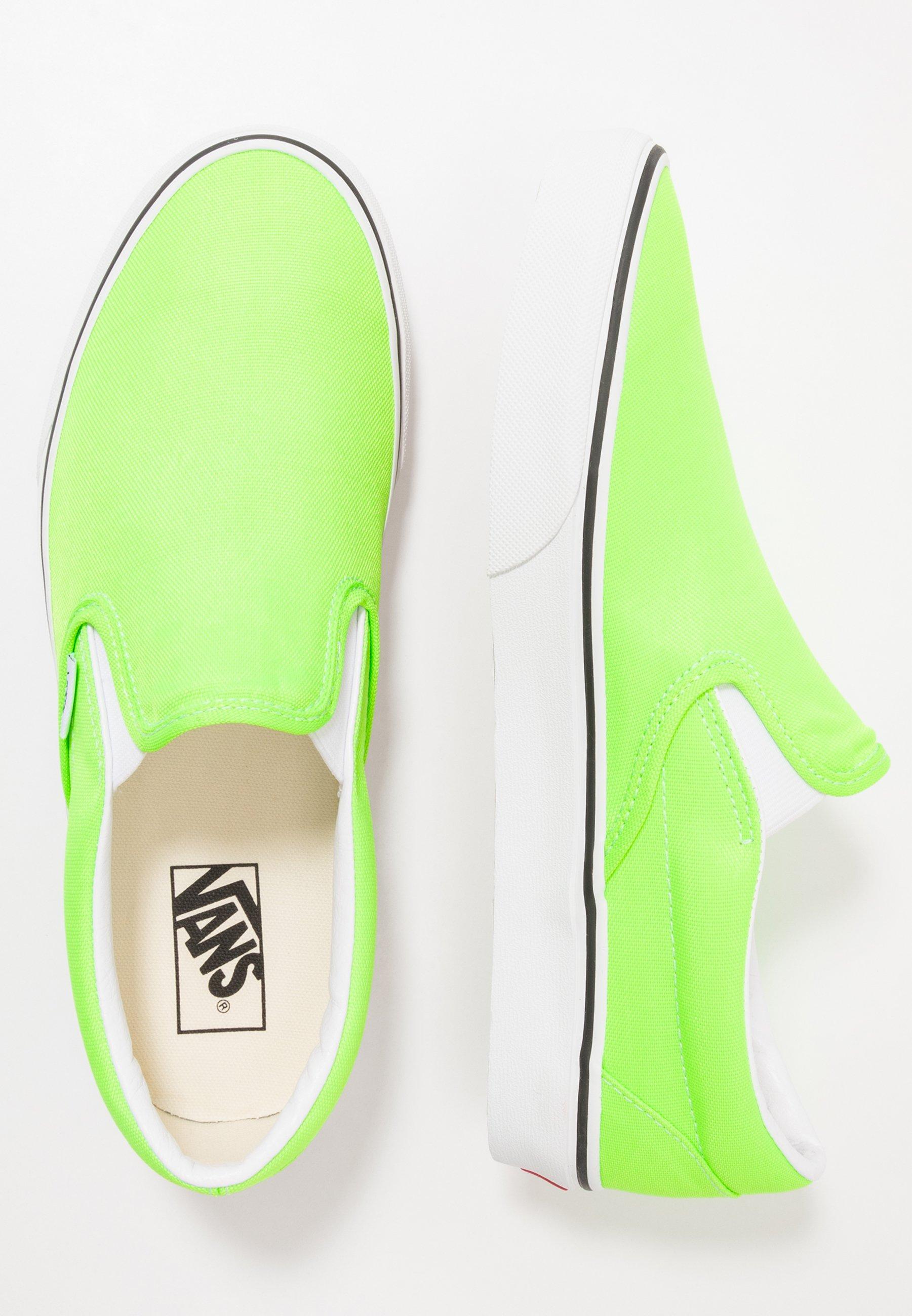 vans verde fluo